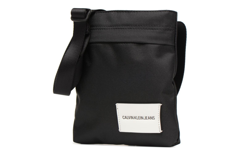 Herrentaschen Calvin Klein SPORT ESSENTIAL MICRO FLAT PACK schwarz schuhe getragen