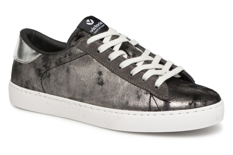 Los zapatos más populares para hombres y mujeres Victoria Deportivo Terciopelo Metal (Plateado) - Deportivas en Más cómodo