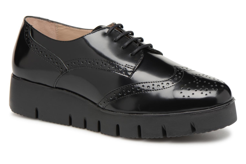 Últimos recortes de precios Unisa FOLLIE GS (Negro) - Zapatos con cordones chez Sarenza