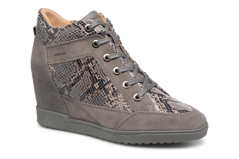 Grandes descuentos últimos zapatos Geox D CARUM C D84ASC (Gris) - Deportivas Descuento
