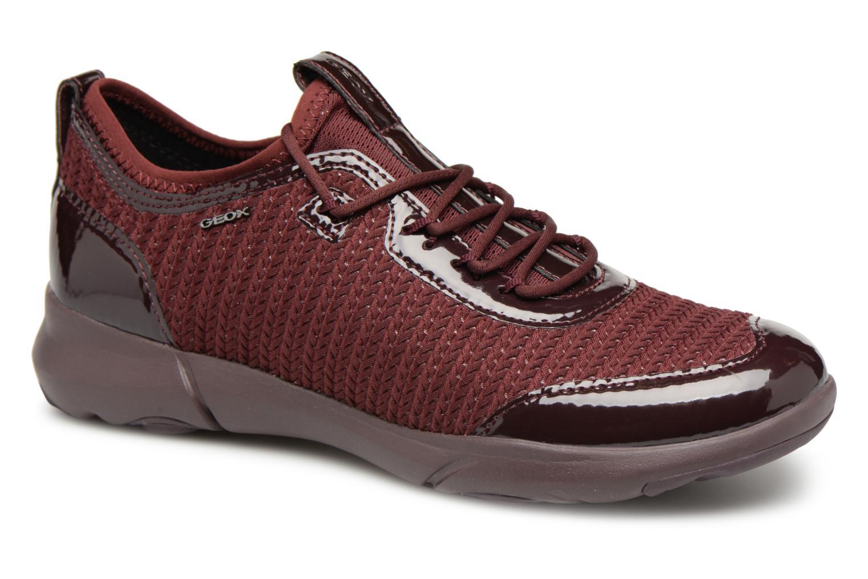 Grandes descuentos últimos zapatos Geox D NEBULA X B D82BHB (Vino) - Deportivas Descuento
