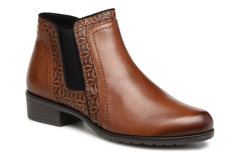Zapatos de mujer baratos zapatos de mujer Remonte Maitena D6873 (Marrón) - Botines  en Más cómodo