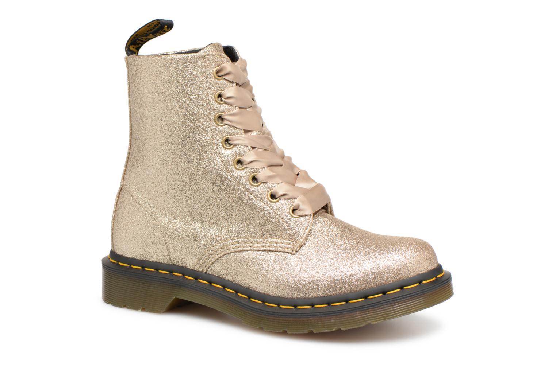Los últimos zapatos de hombre y mujer Pascal DR. Martens 1460 Pascal mujer Glitter (Oro y bronce) - Botines  en Más cómodo d1bda2