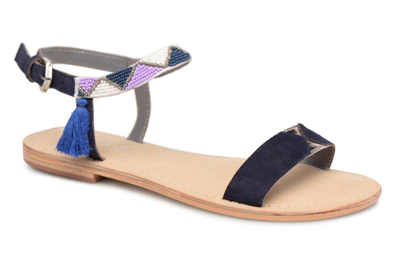 Initiale Paris NEWTON (Bleu) - Sandales et nu-pieds chez Sarenza (336734)