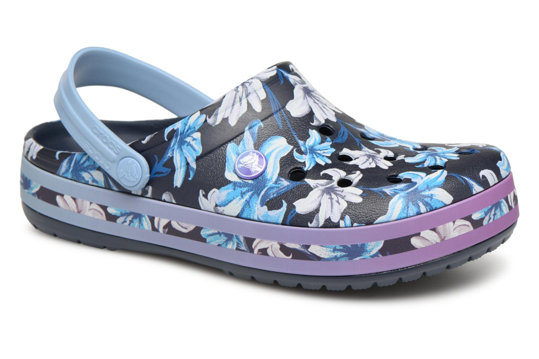 Grandes descuentos últimos zapatos Crocs Crocband Graphic III Clog (Azul) - Zuecos Descuento