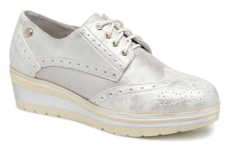 Zapatos promocionales Xti 47593 (Plateado) - Zapatos con cordones   Zapatos casuales salvajes