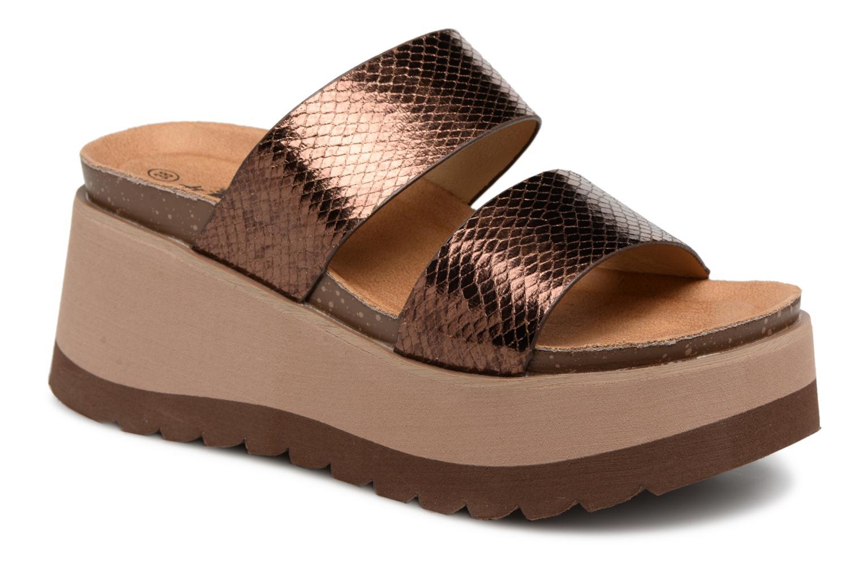 Zapatos promocionales Xti 48060 (Oro y bronce) - Zuecos   Zapatos de mujer baratos zapatos de mujer