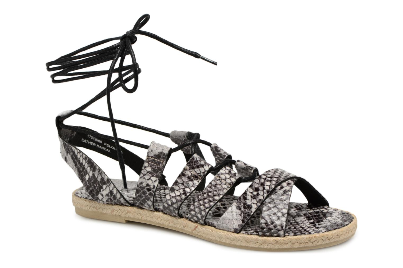 Grandes descuentos últimos zapatos Pieces Louisa (Gris) - Sandalias Descuento