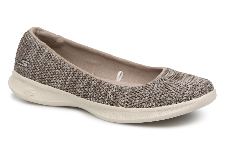 Zapatos promocionales Skechers 14477/TPE (Gris) - Bailarinas   Zapatos de mujer baratos zapatos de mujer