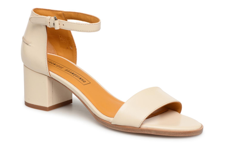 Zapatos promocionales Veronique Branquinho Sandales à petit talon (Beige) - Sandalias   Casual salvaje