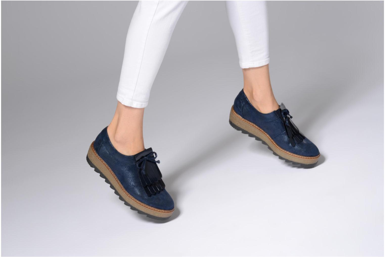 Grandes descuentos últimos zapatos Tamaris 24733 (Azul) - Zapatos con cordones Descuento