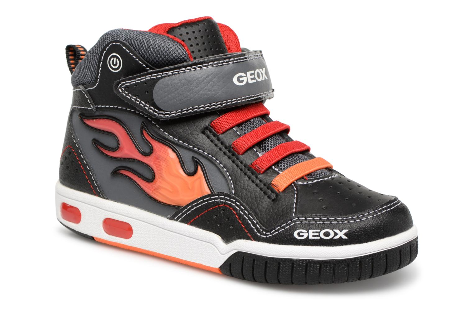 JR red Black Geox J8447C Gregg SnwIxwdA