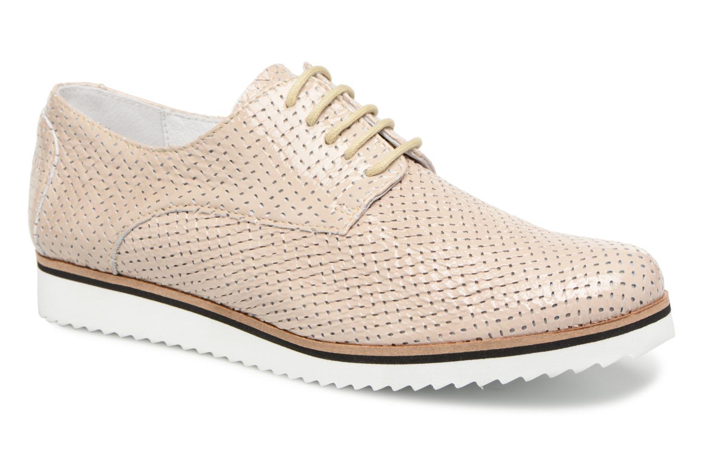 Los últimos zapatos de hombre y mujer Elizabeth Stuart ARMY 328 (Beige) - Zapatos con cordones en Más cómodo