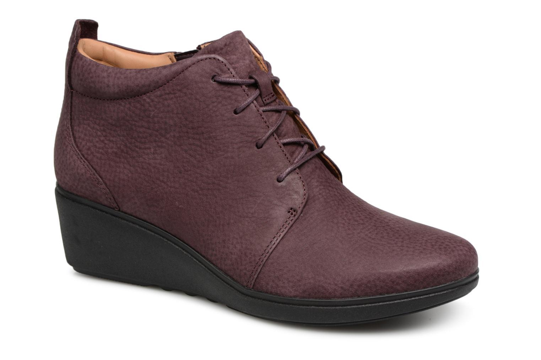 Grandes descuentos últimos zapatos Clarks Unstructured Un Tallara Eva Eva Eva (Violeta     ) - Botines  Descuento bcddad