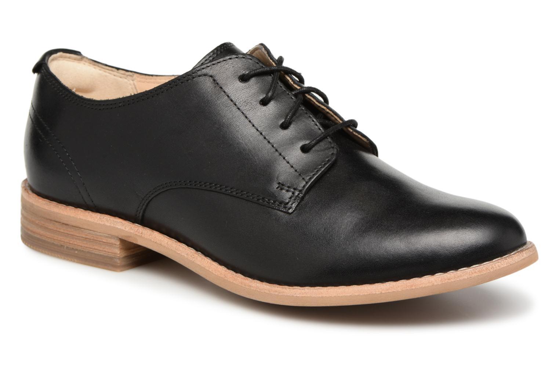 Zapatos casuales salvajes Clarks Edenvale Ash (Negro) - Zapatos con cordones en Más cómodo