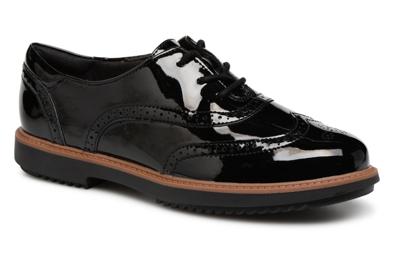 Descuento por tiempo limitado Clarks Raisie Hilde (Negro) - Zapatos con cordones en Más cómodo