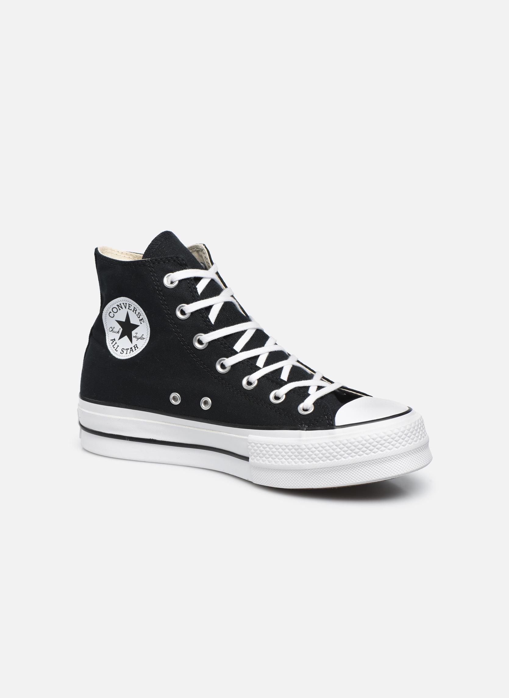 Grandes descuentos últimos zapatos Converse Chuck Taylor Lift Hi (Negro) - Deportivas Descuento