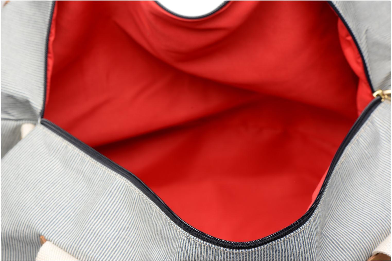 Reisegepäck Faguo BIGDUFFLE01 blau ansicht von hinten