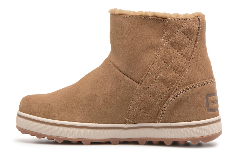Zapatos de hombres y mujeres de moda casual Sorel Glacy Short (Beige) - Botas en Más cómodo