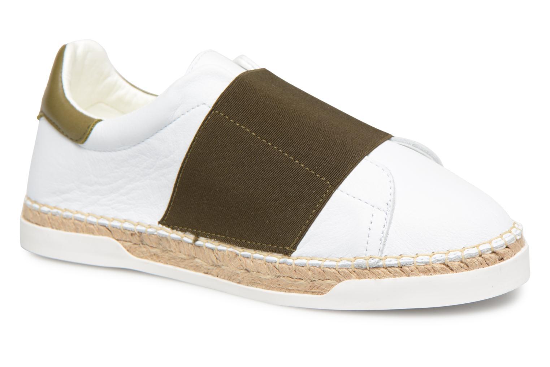 Zapatos promocionales Canal St Martin LANCRY ELASTIQUE (Blanco) - Deportivas   Descuento de la marca