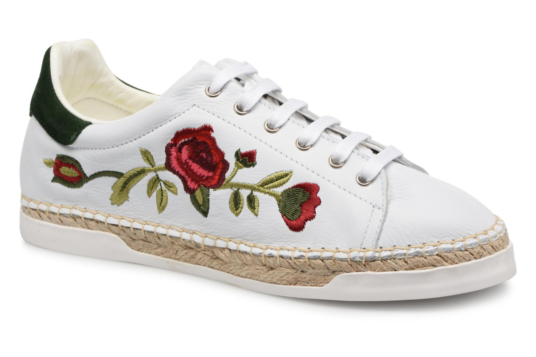 Grandes descuentos últimos zapatos Canal St Martin LANCRY FELURS (Blanco) - Deportivas Descuento