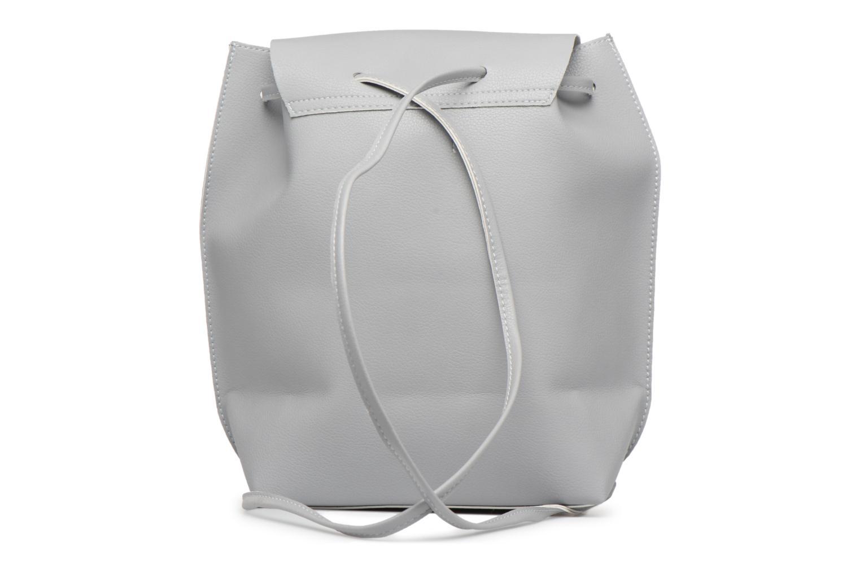 Rucksäcke Street Level Slouch thin strap backpack grau ansicht von vorne
