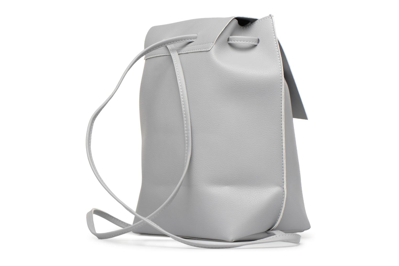 Sacs à dos Street Level Slouch thin strap backpack Gris vue droite