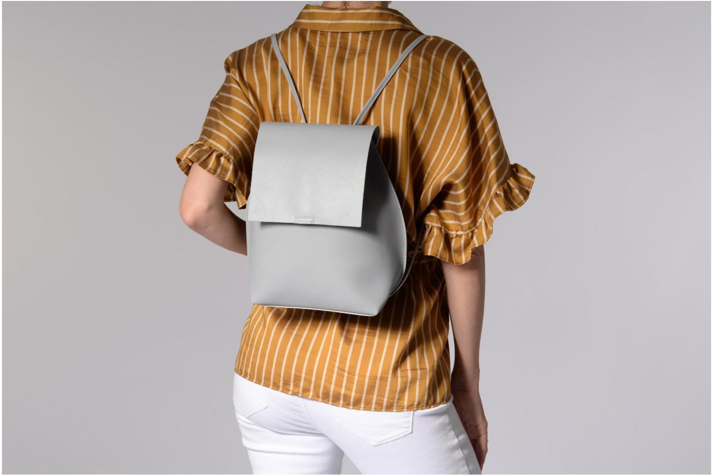 Rucksäcke Street Level Slouch thin strap backpack grau ansicht von oben