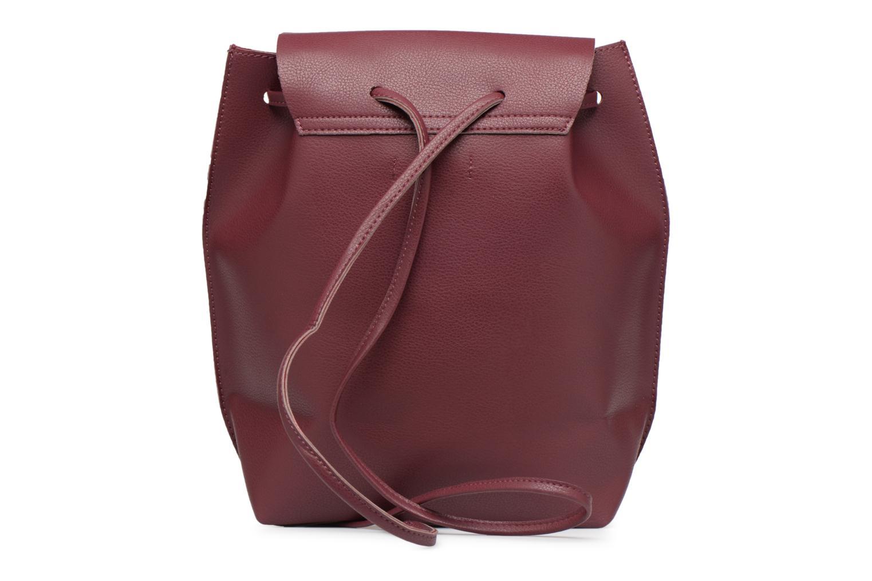 Sacs à dos Street Level Slouch thin strap backpack Bordeaux vue face