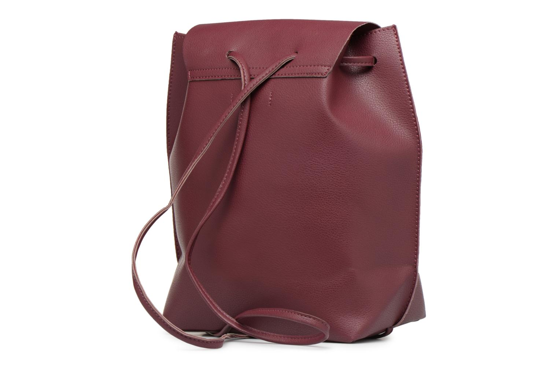 Sacs à dos Street Level Slouch thin strap backpack Bordeaux vue droite