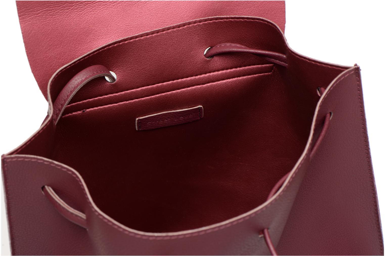 Sacs à dos Street Level Slouch thin strap backpack Bordeaux vue derrière