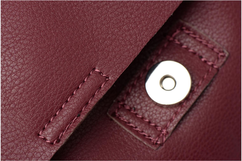 Sacs à dos Street Level Slouch thin strap backpack Bordeaux vue gauche