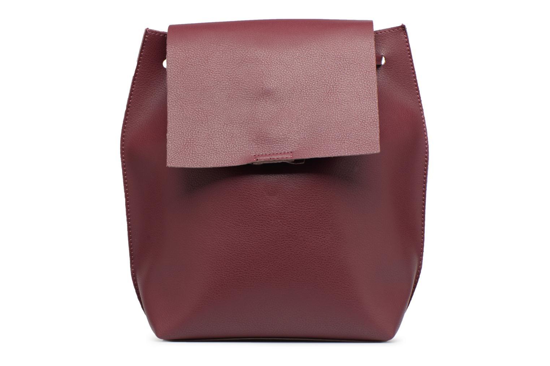 Rugzakken Street Level Slouch thin strap backpack Bordeaux detail