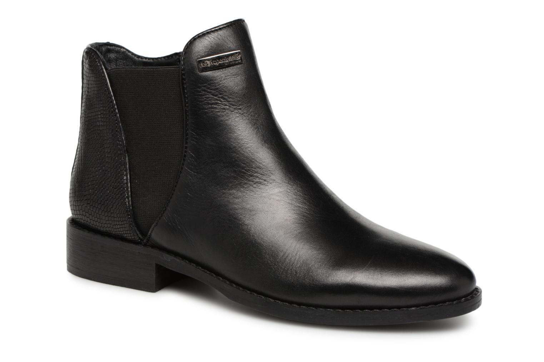 Bottines et boots Les Tropéziennes par M Belarbi NETWORK Noir vue détail/paire