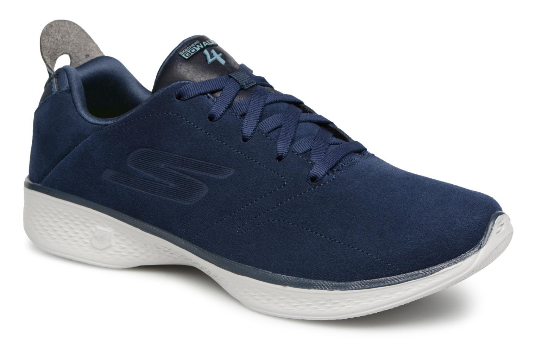 Zapatos promocionales Skechers GO WALK 4 W (Azul) - Deportivas   Cómodo y bien parecido