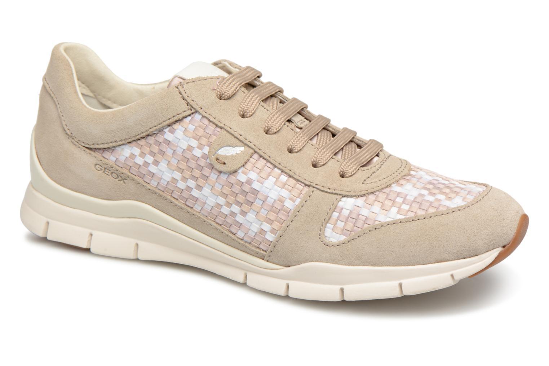 Grandes descuentos últimos zapatos Geox D SUKIE A (Beige) - Deportivas Descuento