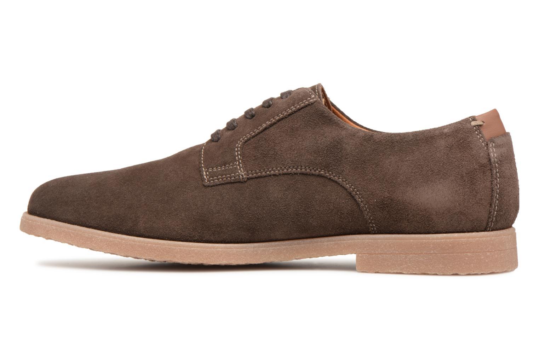 Chaussures à lacets Geox U DWAIN B Marron vue face