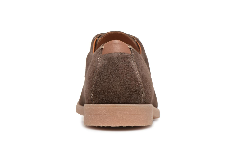 Chaussures à lacets Geox U DWAIN B Marron vue droite