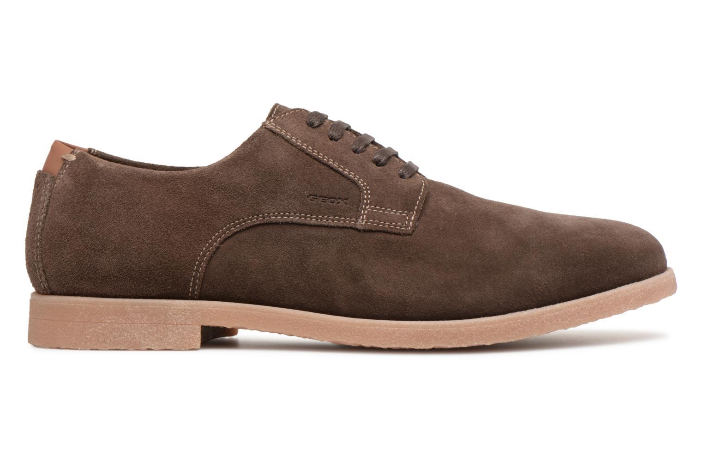 Chaussures à lacets Geox U DWAIN B Marron vue derrière