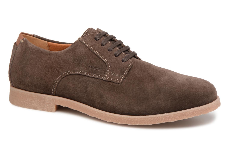 Venta de liquidación de temporada Geox U DWAIN B (Marrón) - Zapatos con cordones en Más cómodo