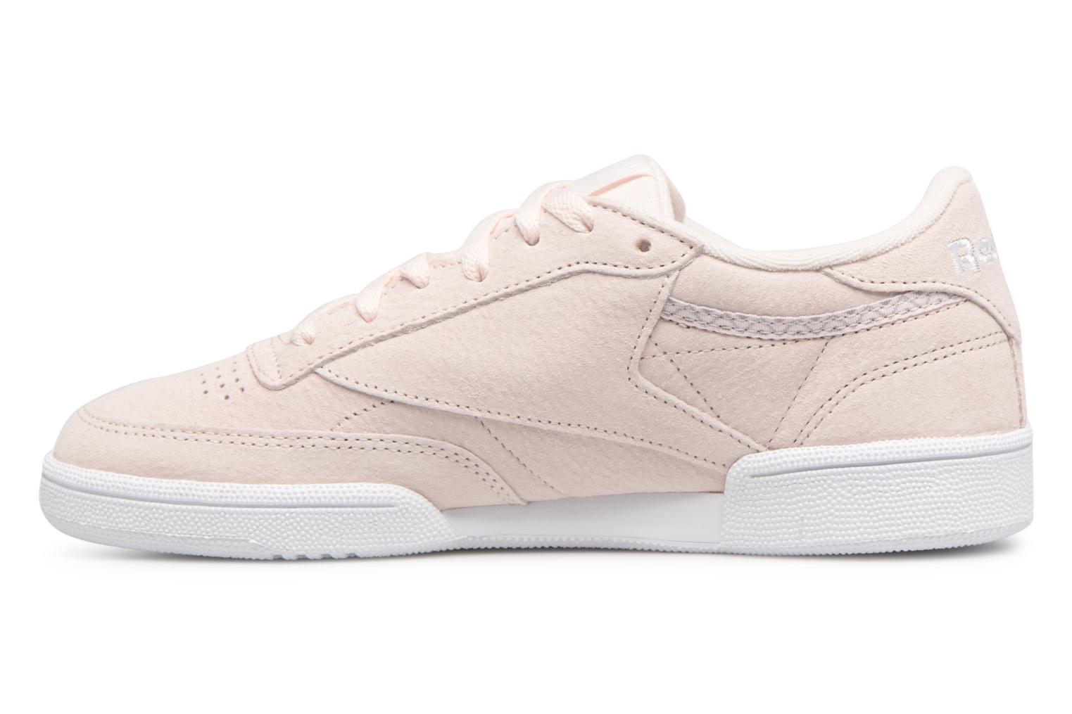 Grey C Reebok Nubuck Club White 85 Trim Pink Zq0zawqC
