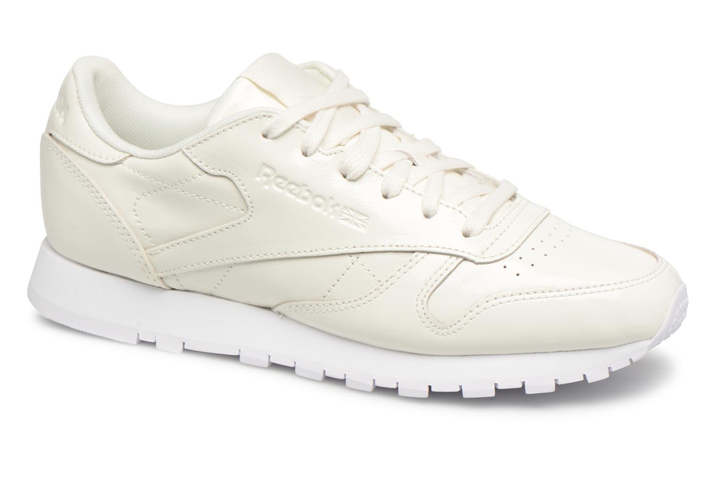 Zapatos promocionales Reebok Classic Leather Patent (Blanco) - Deportivas   Gran descuento