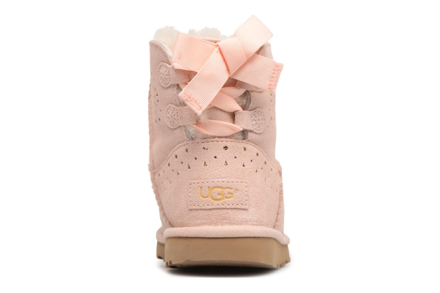 Bottes UGG Dae Sunshine Perf Rose vue droite