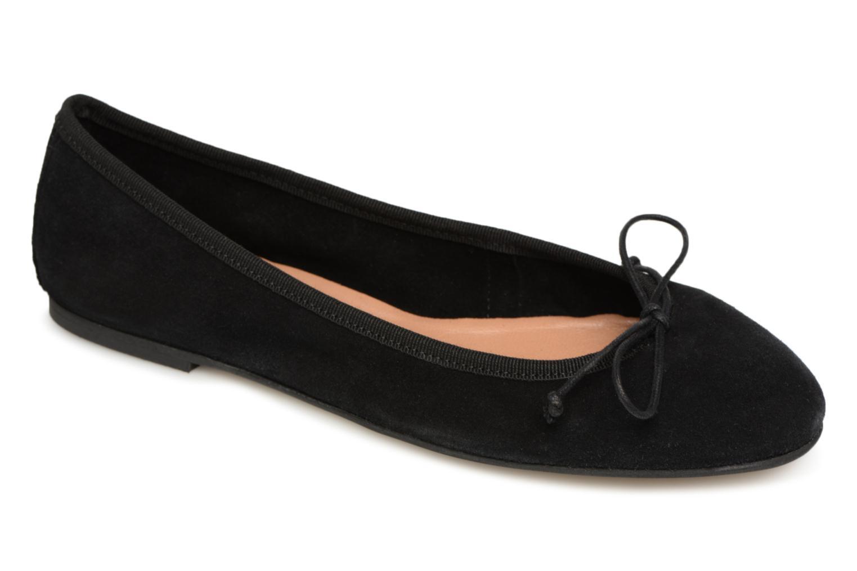 Zapatos promocionales Pieces BALLERINA FLAT (Negro) - Bailarinas   Casual salvaje