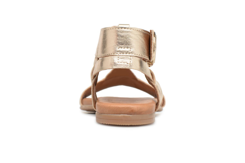 Sandalen Tamaris 22815 Goud en brons rechts