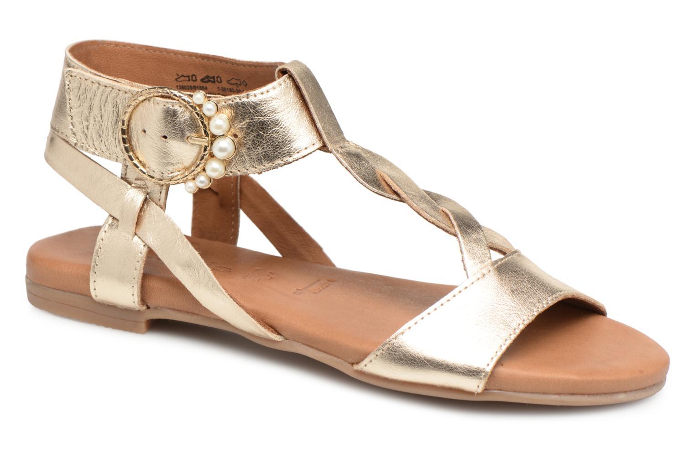Grandes descuentos últimos zapatos Tamaris 22815 (Oro y bronce) - Sandalias Descuento