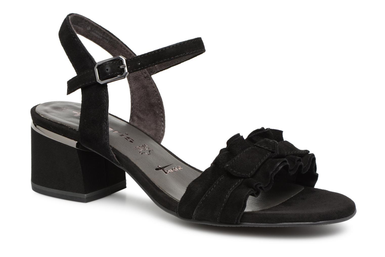 Grandes descuentos últimos zapatos Tamaris 28028 (Negro) - Sandalias Descuento