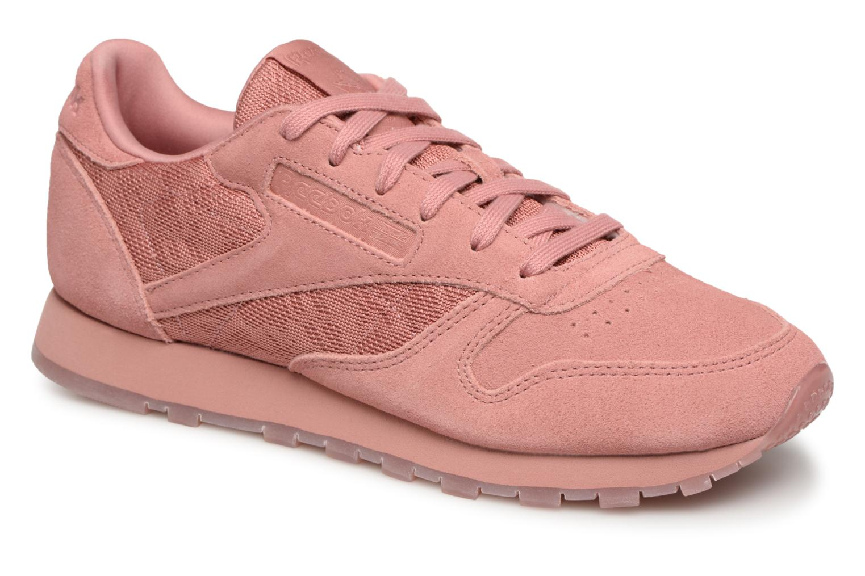Casual salvaje Reebok Classic Leather Lace (Rosa) - Deportivas en Más cómodo
