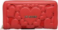 Portemonnaies & Clutches Taschen Portefeuille avec empiècements fantaisie rouge