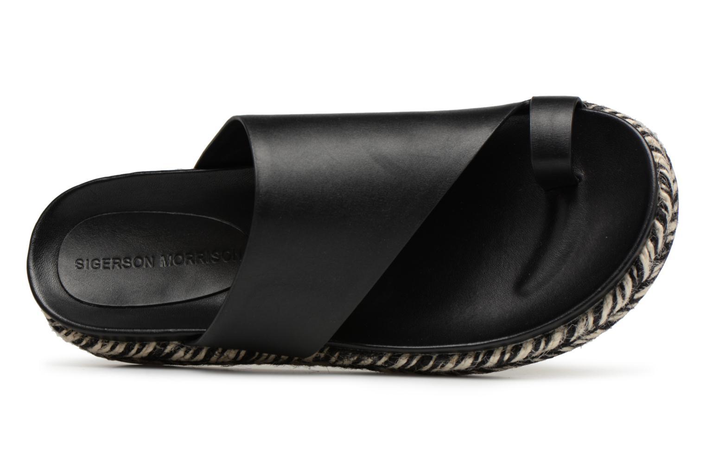 e6a3b603ac5 ... Zapatos promocionales Sigerson Morrison Mule asymétrique compensée ( Negro) - Zuecos Los zapatos más populares ...
